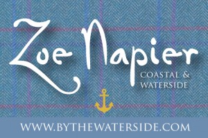 Zoe Napier Coastal & Waterside logo