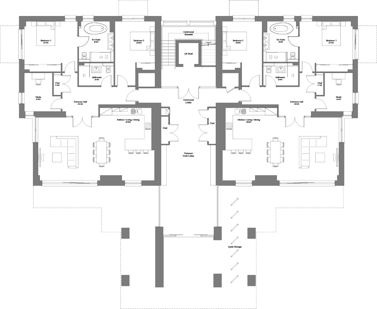 Sandgate Pavilions floorplan