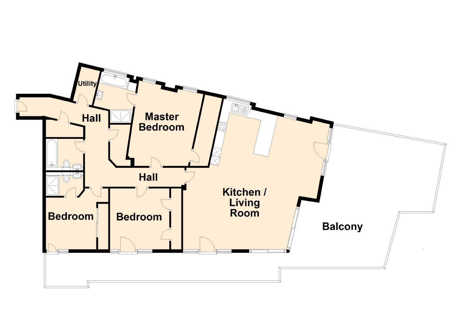 Prospect Road floorplan