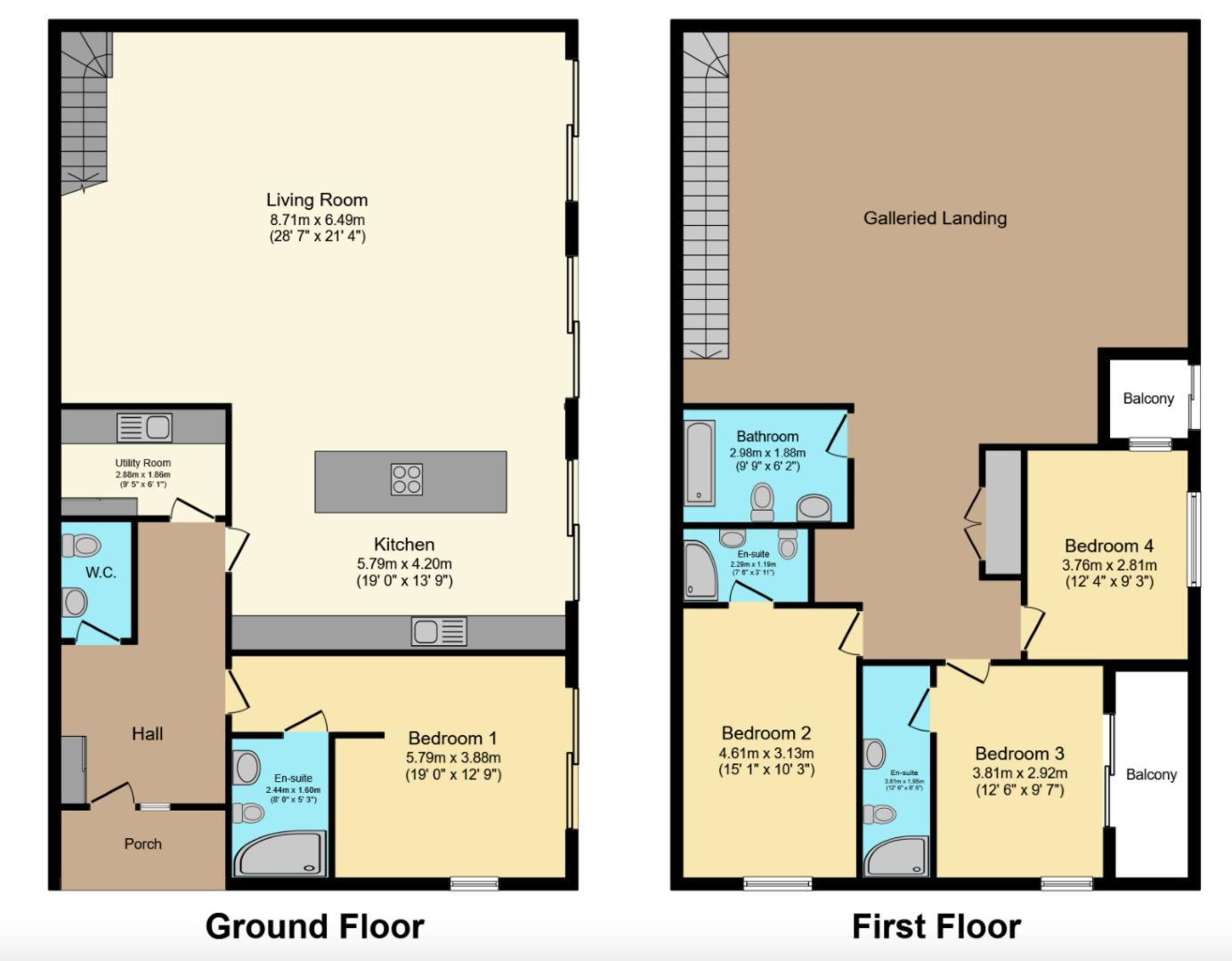 Five Vents Lane floorplan