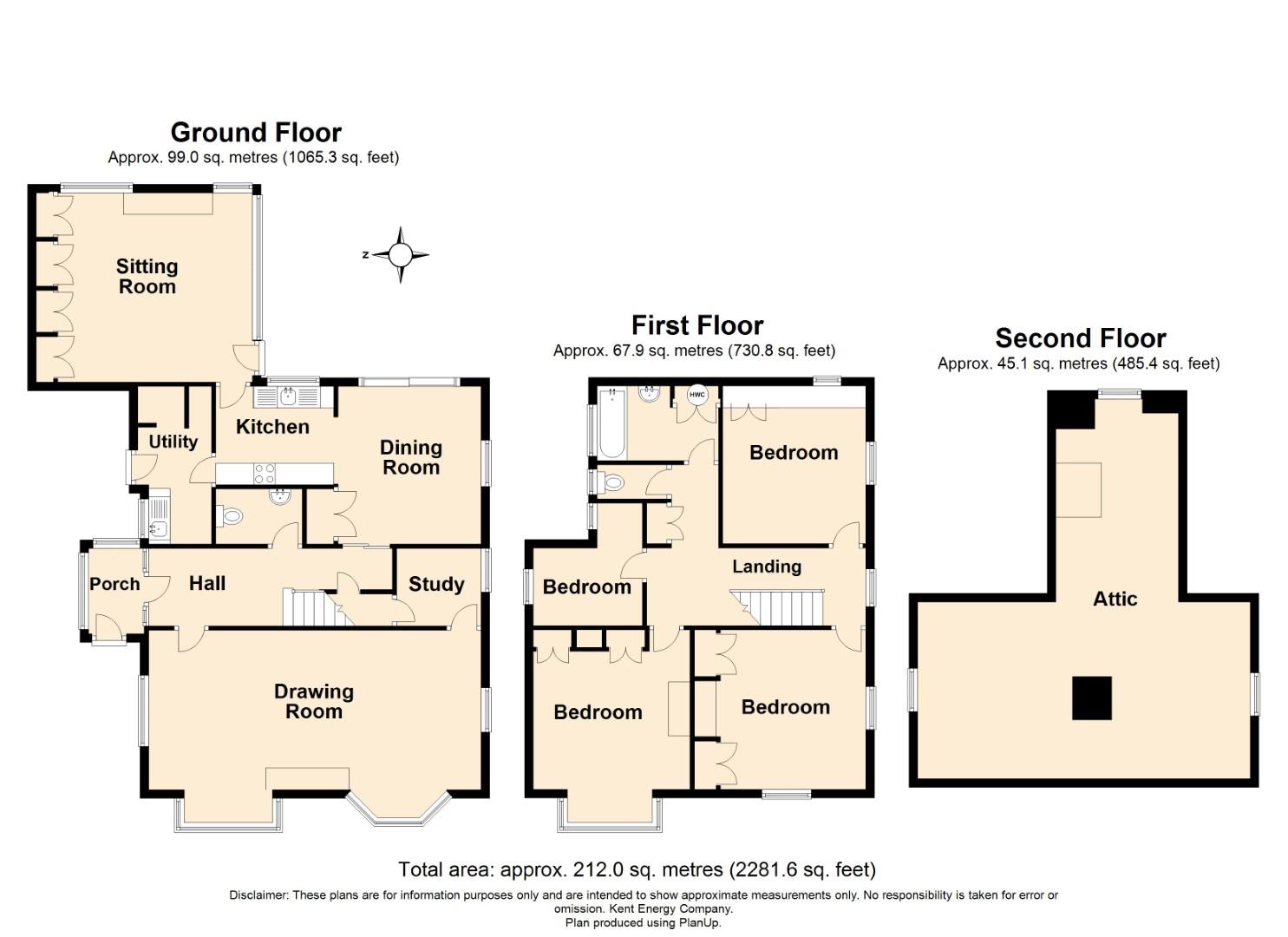 St Leonards Road floorplan